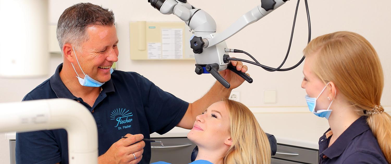 Endodontiebehandlung Dr. Gerhrad Fischer, Karlsruhe-Durlach