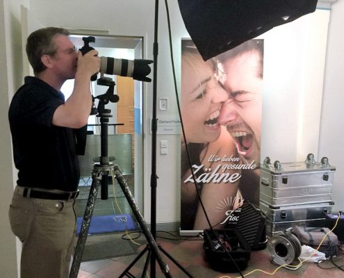 Fotoshooting Praxisteam Dr. Gerhard Fischer, Karlsruhe-Durlach