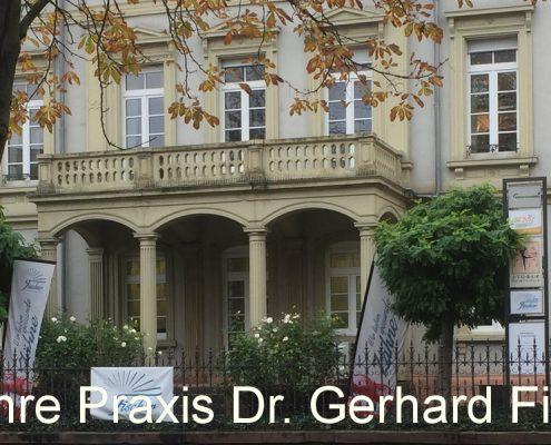 Praxisgebaeude Dr. Gerhard Fischer, Blumentorstr. 16, Karlsruhe-Durlach