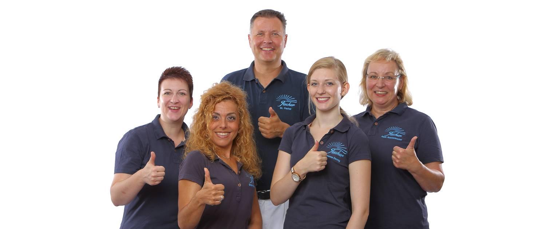 Team der Praxis Dr. Gerhard Fischer, Karlsruhe-Durlach
